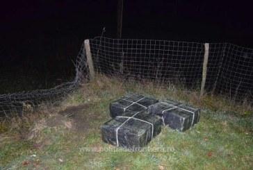 "Contrabandistii ""si-au"" uitat tigarile la frontiera Romaniei"