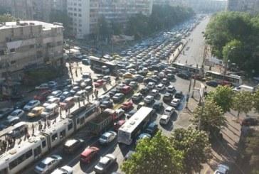 Bucurestiul, primul oras din Europa in clasamentul TomTom privind blocajele in trafic