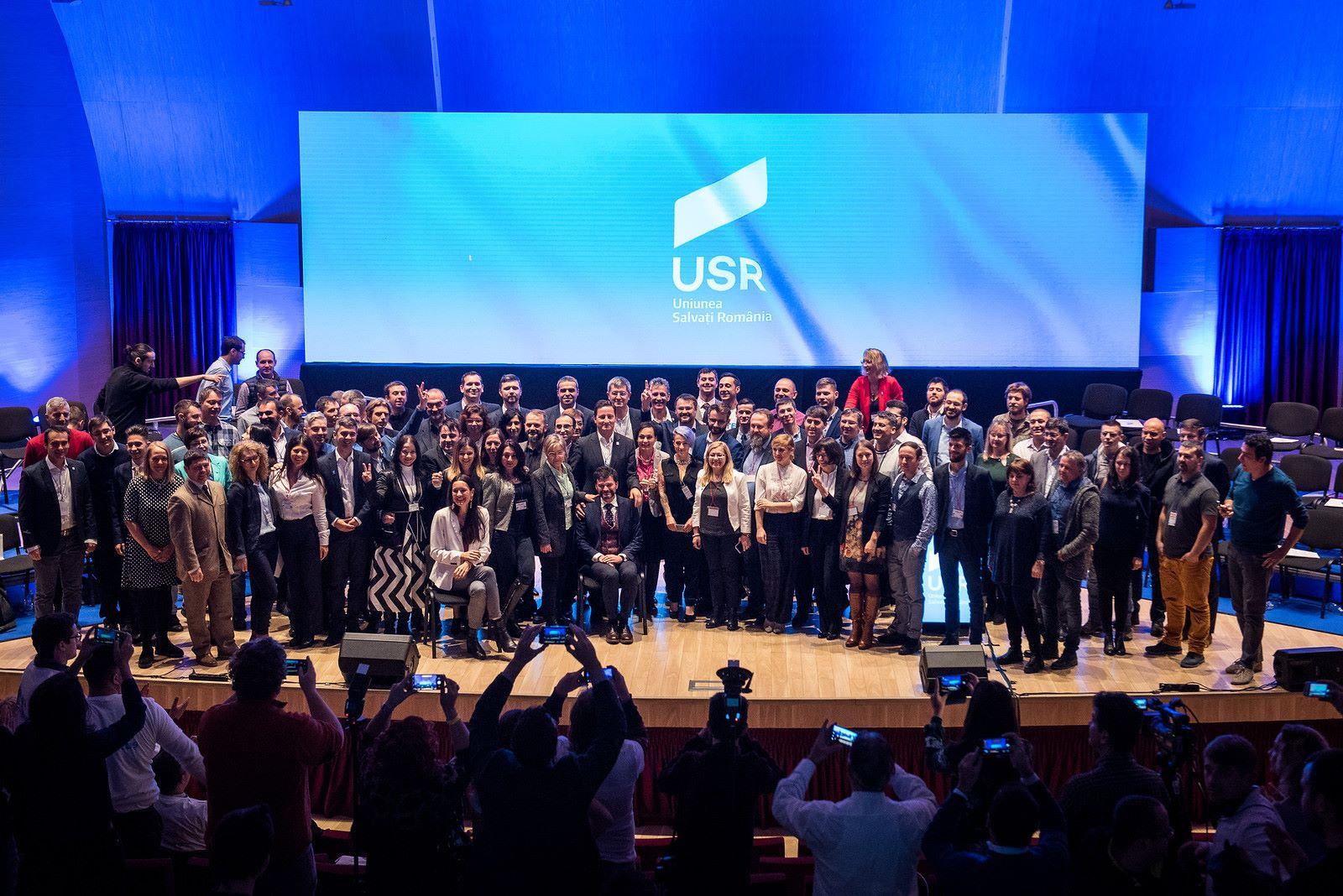 USR si-a ales candidatii la alegerile europarlamentare din mai 2019