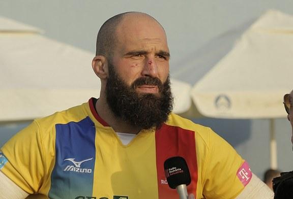 Rugby: Ultimul meci pentru Ursache, in tricoul Romaniei, jucat in Baia Mare