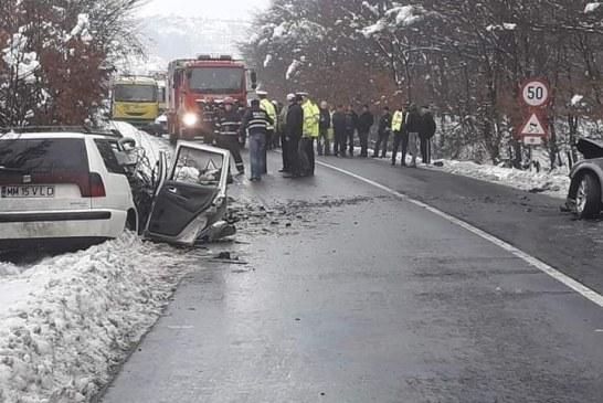 Accident mortal la Grosi, langa fostul Popas Regal (VIDEO)