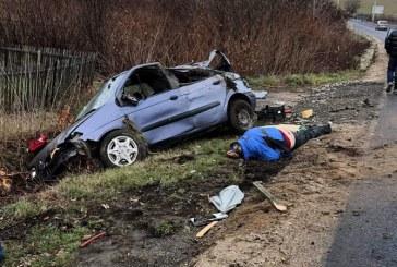 UPDATE – DIN TRAFIC: Accident grav cu un ranit la Grosi (FOTO)