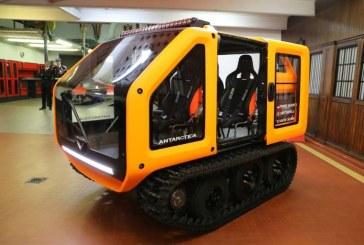 Prototipul Antartica, un vehicul 100% electric destinat explorarii fara poluare, dezvaluit la Monaco