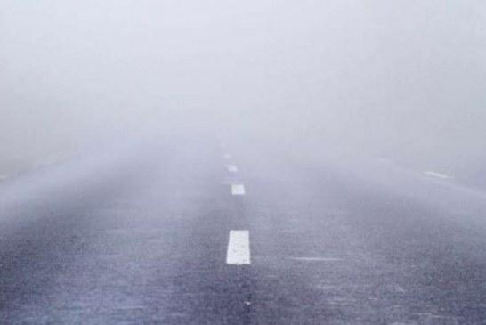 Meteo: Ceata in Pasul Prislop. Vizibilitatea in trafic este de sub 100 de metri