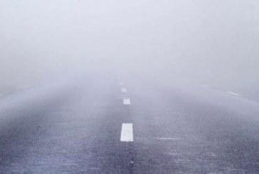 Cod galben de ceață densă în 13 județe din Transilvania