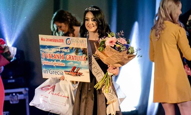 Baia Mare: Cine a castigat titlul de Miss Universitaria 2018