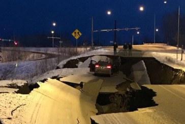 (FOTO) Pagube materiale si raniti in urma cutremurului care a zguduit Alaska