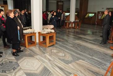 """La Muzeul de Mineralogie a avut loc vernisajul expozitiei temporare """"Minerale in filatelia romaneasca"""""""