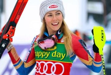 Americanca Mikaela Shiffrin, invingatoare in slalomul special de la Semmering