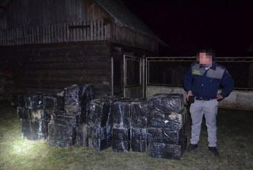 Contrabandistii au ramas fara tigarile ascune intr-o anexa din Lunca la Tisa