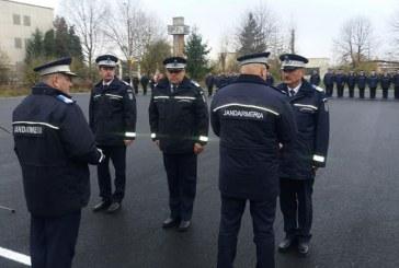 Avansari in grad prilejuite de Ziua Nationala a Romaniei la Jandarmeria Maramures
