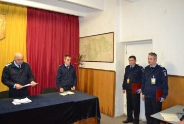 Doi jandarmi maramureseni decorati de catre ministrul Afacerilor Interne