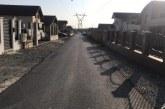 Baia Mare: Strada Liliacului are si piatra pe acostament. Dupa mai multe sesizari facute de locuitori, soseaua a fost finalizata