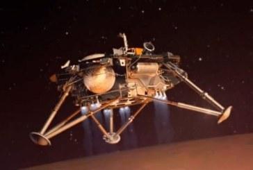 Sonda InSight a asolizat pe o suprafata usor inclinata a planetei Marte