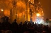 """Ungaria: Gaze lacrimogene si arestari la protestele de la Budapesta impotriva """"legii sclaviei"""""""
