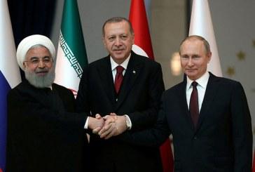 Siria: Un summit Putin-Erdogan-Rouhani, prevazut pentru inceputul lui 2019, anunta Moscova