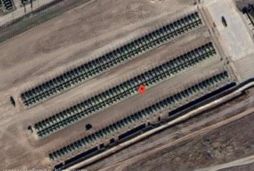 Tensiuni ruso-ucrainene: Imagini din satelit arata sute de tancuri rusesti la frontiera cu Ucraina