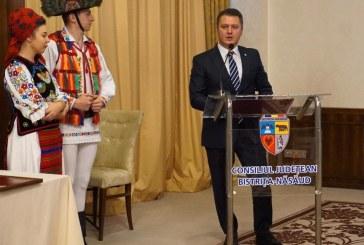 Maramureseanul Stefan Darabus a primit Titlul de Cetatean de Onoare al Judetului Bistrita-Nasaud (FOTO)