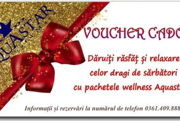 Daruiti rasfat si relaxare cu pachetele wellness & SPA Aquastar!