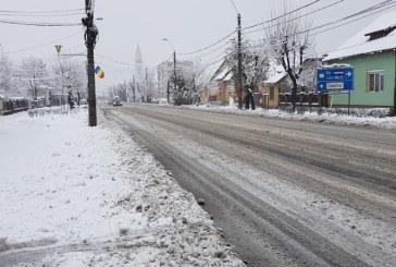 Circulatie rutiera in conditii de iarna pe drumurile din judet. Afla cum va fi vremea astazi