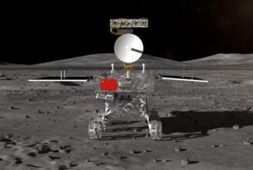 "Roverul din misiunea spatiala chineza Chang'e 4 a lasat prima ""amprenta"" pe fata nevazuta a lunii"