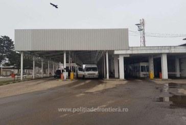 Piese de autoturisme, cautate de autoritatile din Olanda si Germania, descoperite de politistii de frontiera