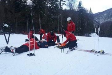 60 de accidente pe partiile de ski de la Cavnic. Salvamontistii vin cu recomandari