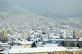 Imaginea zilei: Iarna peste Baia Mare