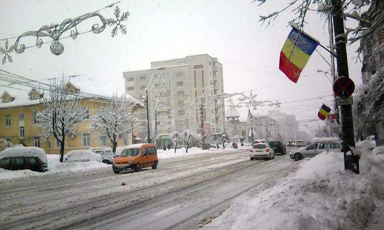 Maramures: Vremea se raceste usor fata de zilele precedente. Temperaturi: -2 grade C Baia Mare, -1 grad C la Sighetu Marmatiei
