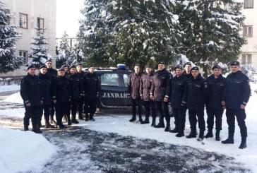 Jandarmeria Maramures: Viitori jandarmi, in stagiul de practica