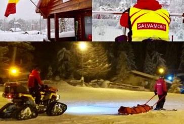 Salvamontistii din Baia Mare si Cavnic au primit, intr-un final, girofarurile pentru balizarea partiilor de ski unde se produc accidente