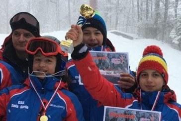 Sportivi ai Clubului Sportiv Scolar Baia Sprie participa la FIS Children Trophy 2019