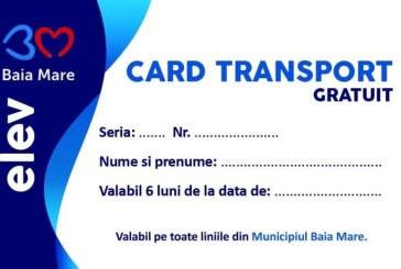URBIS: Se reinnoiesc abonamentele gratuite ale elevilor la transportul public in comun valabile pe raza orasului Baia Mare
