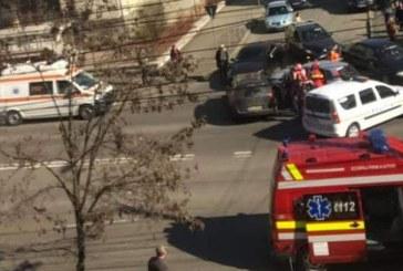 ALERTA: Accident cu trei masini implicate, in Baia Mare