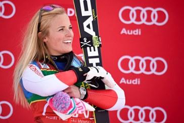 Schi alpin-CM: Elvetianca Lara Gut-Behrami, pe podiumul probei de coborare de la Crans-Montana dupa verificarea rezultatelor