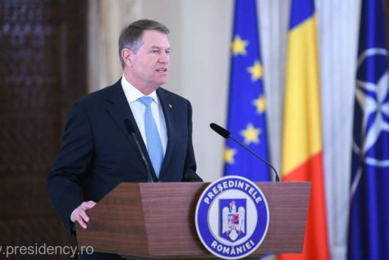 Iohannis: Voi convoca un referendum pe 26 mai