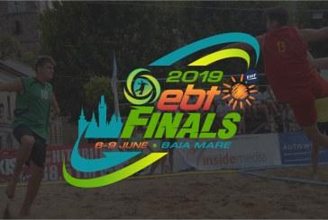 Finala Campionatului European de Beach Handball aduce la Baia Mare 500 de sportivi, delegati si oficiali – o delegatie a EHF inspecteaza zilele acestea locatia evenimentului