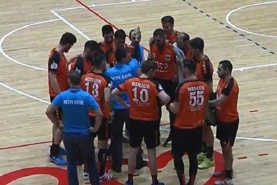 Handbal masculin – Liga Zimbrilor: CS Minaur pierde acasa cu Timisoara