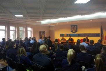 40 de studenti maramureseni ai Academiei de Politie au inceput practica la Inspectoratul de Politie al Judetului