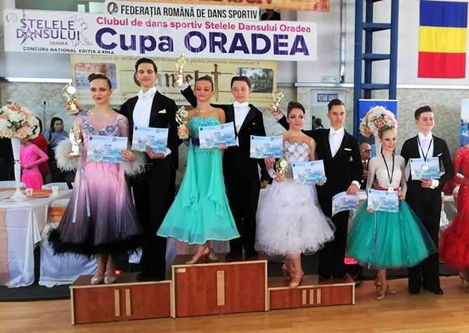 """Argint, bronz si 2 finale pentru Prodance 2000 la """"Cupa Oradea"""""""