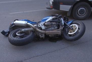 Grav: Un motociclist a accident un pieton in Baia Mare