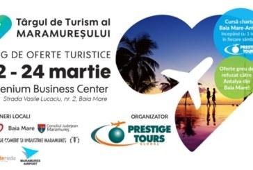 Turoperatorul Prestige Tours organizeaza alaturi de agentiile de turism si autoritatile locale prima editie a Targului de Turism al Maramuresului
