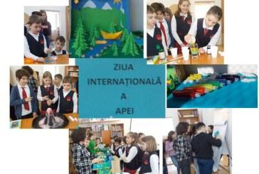 Ziua Internationala a Apei, marcata la Scoala Gimnaziala Avram Iancu Baia Mare
