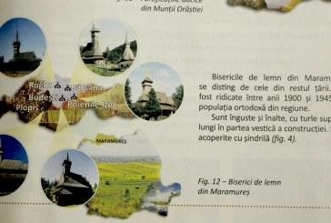 Ne-au facut praf istoria. Informatii soc despre bisericile de lemn din Maramures, in manualul de clasa a IV-a