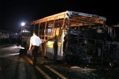 China: 26 de morti in incendiul unui autocar