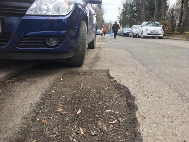 Aviz soferilor! Strada Ciprian Porumbescu e numai buna de rupt masina (GALERIE FOTO)