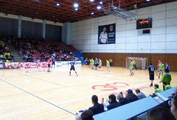 Handbal masculin – Liga Zimbrilor: Minaur se impune pe terenul Universitatii Cluj Napoca