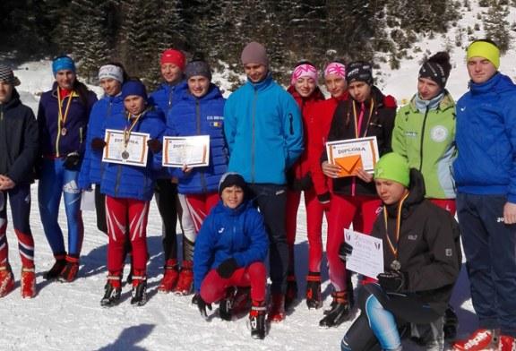 C.S.S. Baia Sprie a obtinut un titlu de Campion national scolar, douatitluri de Vicecampion si cinci locuri III  la Campionatul National de schi fond 2019 (FOTO)