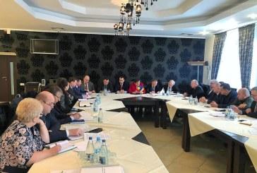 Autoritati din Maramures, discutii in Ucraina pe tema podului de beton peste Tisa