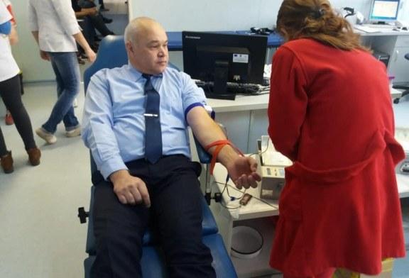 O sansa pentru viata: Jandarmii maramureseni, campanie de donare sange